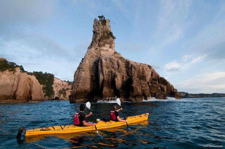 ¿Te apetece un viaje con deporte y aventura a Nueva Zelanda? Mira los impresionantes sitios a los que puedes acceder...es la Península de Coromandel en la isla norte de Nueva Zelanda. ¡Qué experiencia! www.holaaustralia.com