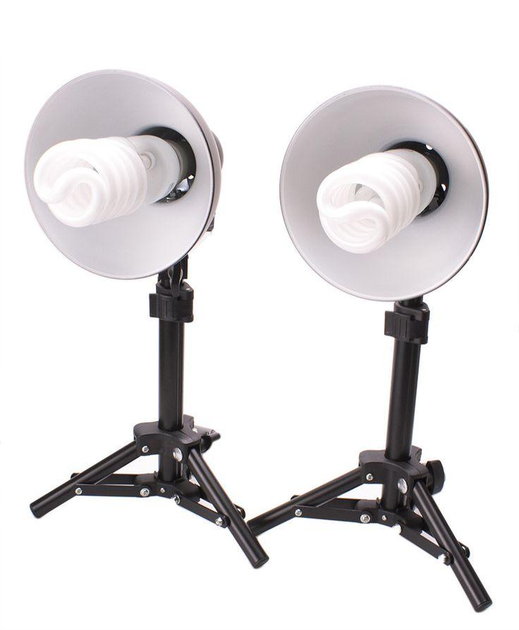 StudioPRO 300W Photography Table Top Photo Studio Lighting Kit - 2 Light Kit
