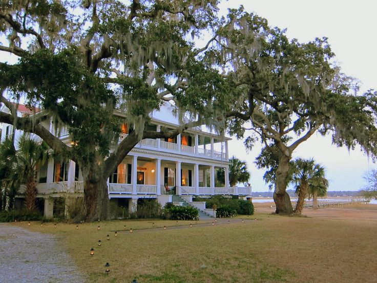 Tidalholm, Beaufort, SC. Location for the movie The Big Chill.