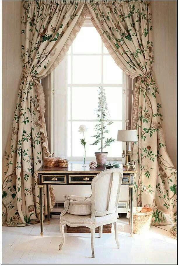 33 best cortinas images on pinterest shades window for Cortinas decorativas