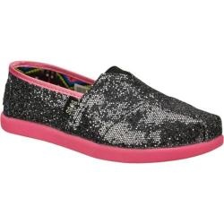@Overstock.com - She'll look great and feel happy to help other kids wearing the SKECHERS Bobs World shoe. Sparkling glitter fabric upper in a slip on casual flat with stitching and overlay accents. For each pair of BOBS shoes sold, SKECHERS will donatehttp://www.overstock.com/Clothing-Shoes/Girls-Skechers-BOBS-World-Gunmetal-Neon-Pink/7379163/product.html?CID=214117 $31.95