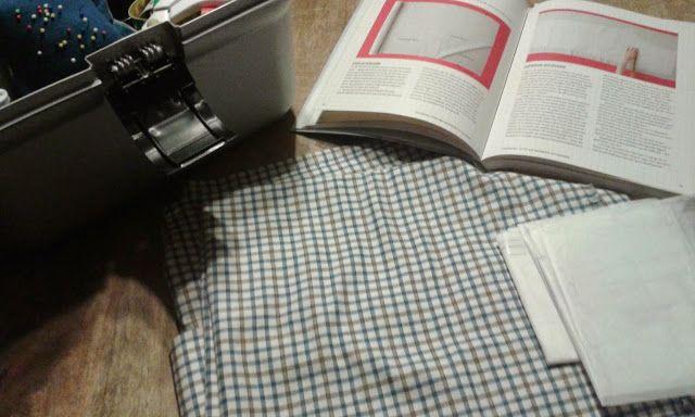 Mijn creatieve hoekje: Tweede pyjama broek gemaakt.
