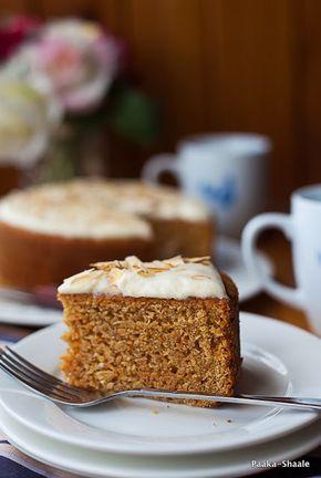 Paaka Shaale: The best Eggless carrot cake