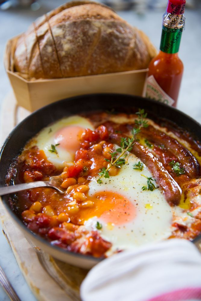 One Pan English Breakfast {For Washing Up Dodgers}