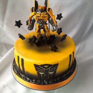 23 kindergeburtstag sanelas tortenwelt zuckerfiguren essbare kunst motiv dessert Transformers cake