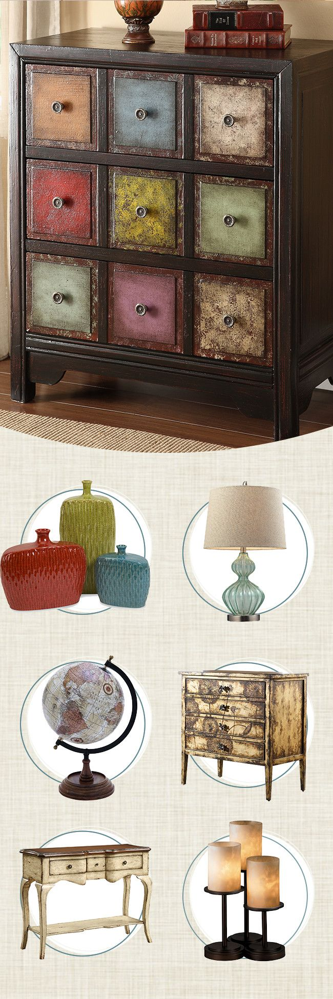 revamp any room with comfortable updates and stylish additions accent chests and cabinets seamlessly combine - Accent Chests