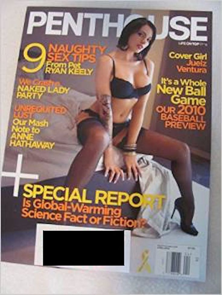 PENTHOUSE Magazine April 2010 Featuring: Cover Girl JUELZ VENTURA Adult