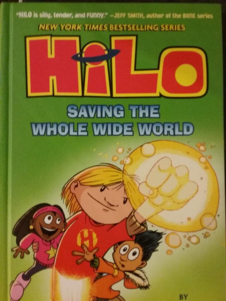 HILO Series By Judd Winick Hardcover