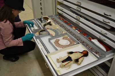 Smithsonian Museum Support Center, Embalaje colecciones etnográficas