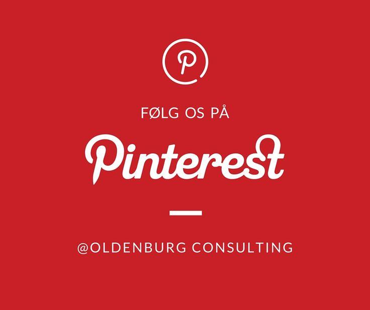 Du kan hurtigt blive afhængig af Pinterest! Følg os derinde og find en masse sjove idéer og flotte billeder.