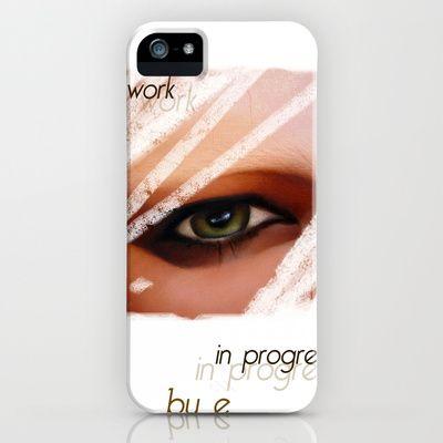 PSICHE - PSICHE E IL DONO DELLA MORTE  (particolare) iPhone Case by Michela Ezekiela Riba - $35.00