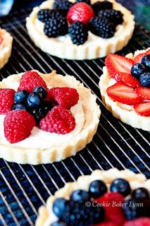 Summer fruit tart!