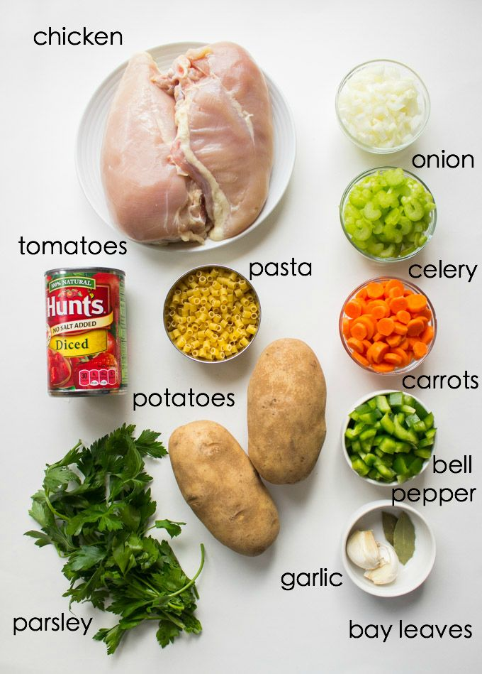 Sicilian Chicken Soup - All from scratch with tender chunks of veggies, ditalini pasta, and shredded chicken. Copy cat of Carrabba's chicken soup | littlebroken.com @littlebroken