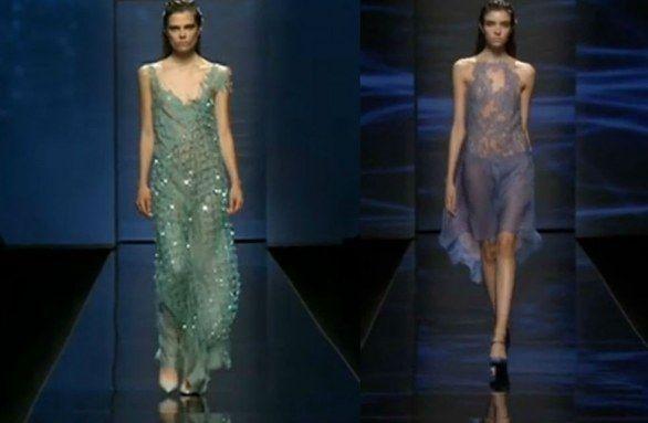 Milano Moda Donna: le Dee marine di Alberta Ferretti
