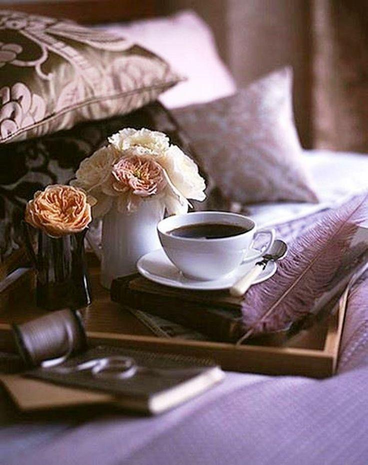 Картинка с кофе в постель, новый