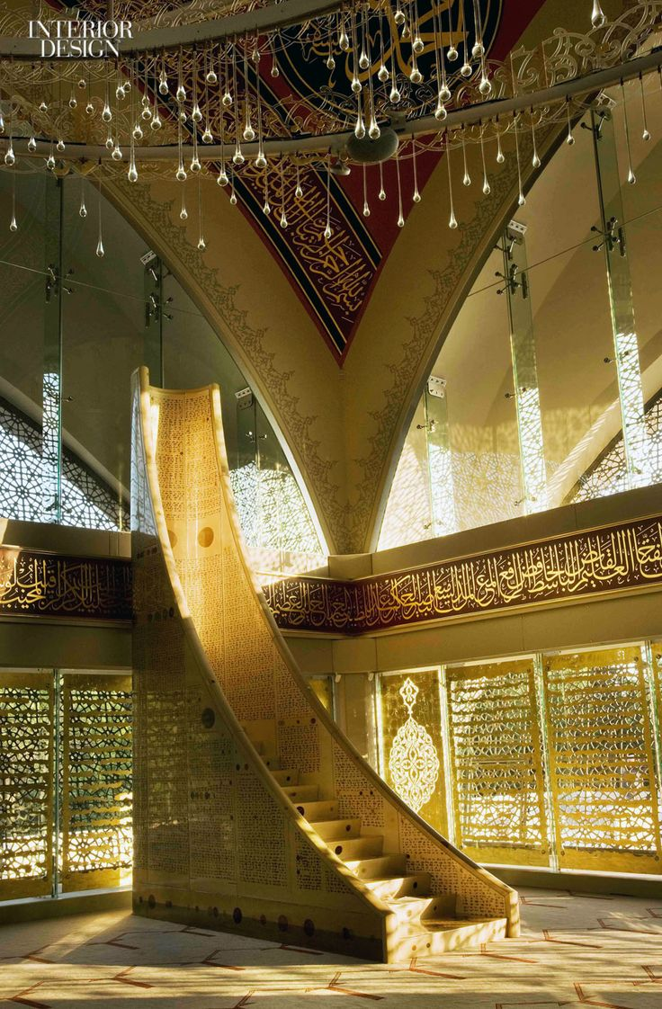 186 best mosque images on pinterest islamic architecture for Modern islamic building design