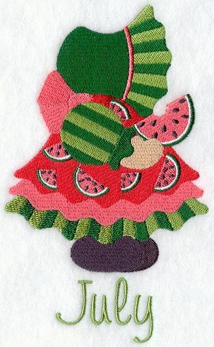 Sunbonnet Sue - July 2