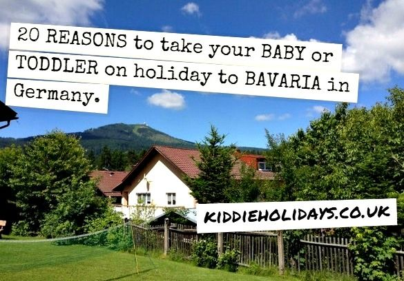 20 reasons why the Bavarian Forest in Germany is a great choice for a baby friendly holidays. Read why we had a fantastic holiday there with our 3 year old and 5 month old #babyfriendly #toddlerfriendly