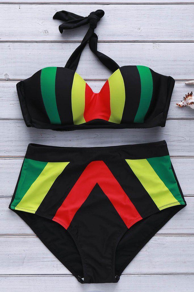 Multi-color Bikini Set ( sizes)