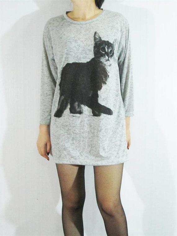 Cute cat shirt