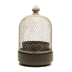 I love when warmers look like a piece of decor! Love this birdcage! www.alexis.scentsy.us