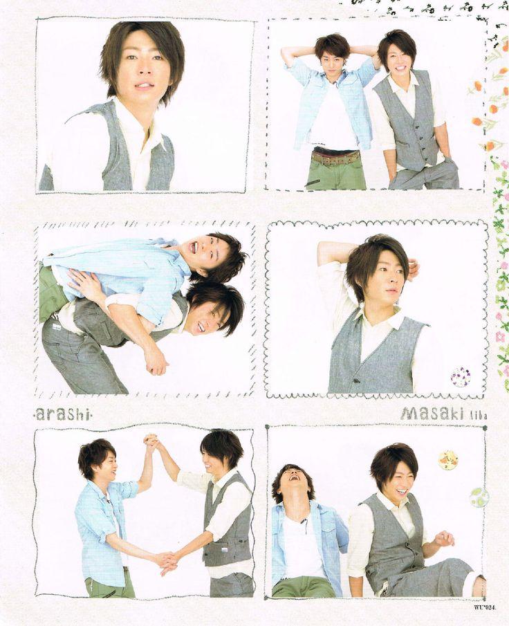 Arashi in Wink Up 2010.09. Magazine