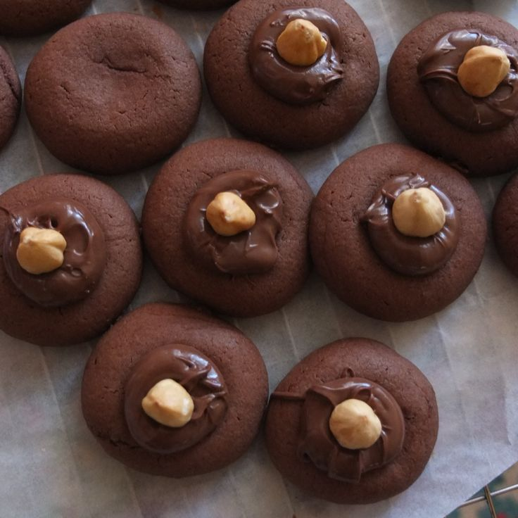 Nutellotti - nutella biscuits or cookies recipe - lili's cakes #nutellotti #nutella #cookie #fast #easy #spelt #recipe
