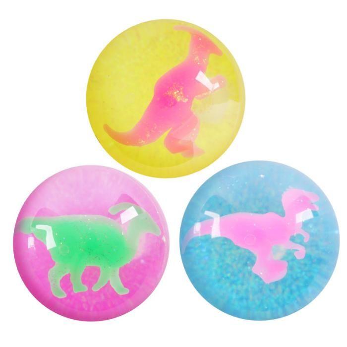 TY102 - Palle Pazze Rimbalzanti - Dinosauri - 6.5cm | Puckator IT #partybag #kid #idee #compleanno #bambino