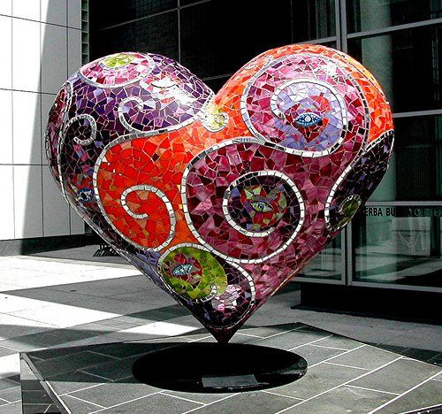 Mosaic Heart - my all time favorite of the SF Heart project