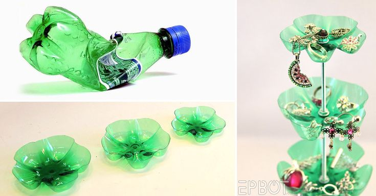 how to make mobile stand from plastic bottle