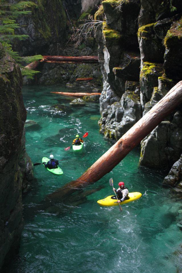 Opal Creek in Oregon. USA