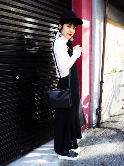 ロングジャンバースカート ¥5900+TAX