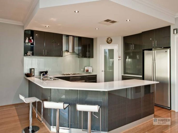 The 25+ Best Modern U Shaped Kitchens Ideas On Pinterest | U Shaped Kitchen  Island, Modern I Shaped Kitchens And I Shaped Kitchen Inspiration