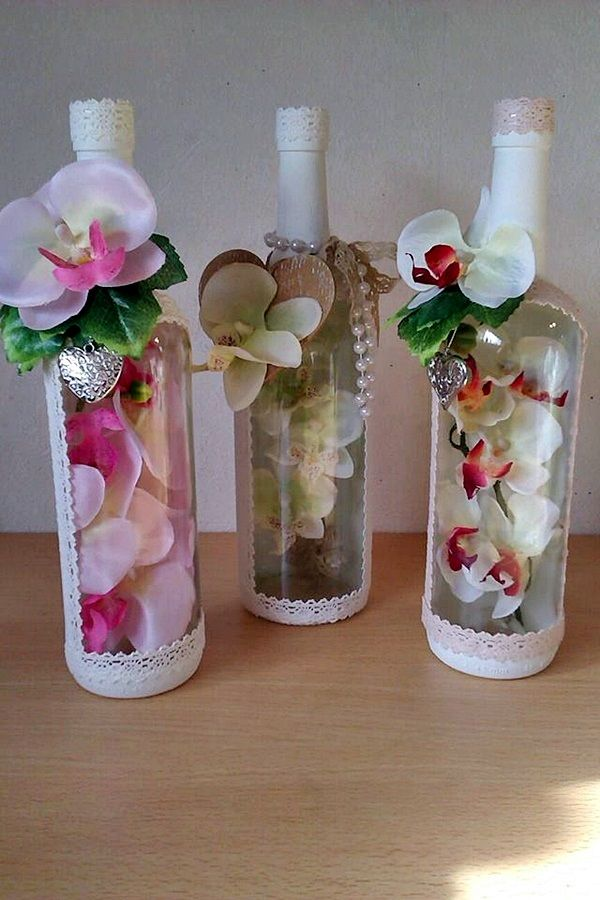 wine bottles on pinterest decorated wine bottles decorating wine