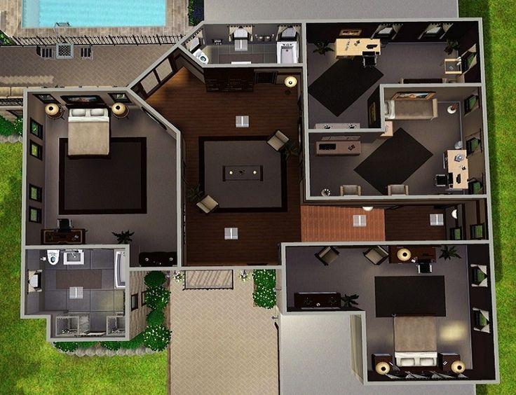 12 best Sims images on Pinterest | House floor plans, Dream house ...
