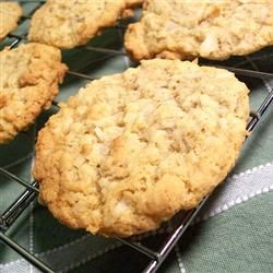 Chewy Crispy Coconut Cookies Allrecipes.com