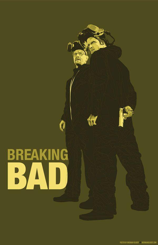 AMC, artwork, breaking bad, creative, Illustration, Inspiration, tv show, Breaking Bad Poster