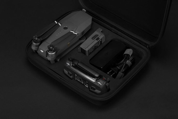 Incase Drone Compression Pack. Die-cut EVA foam padding ensures ultimate protection for your Mavic and accessories.