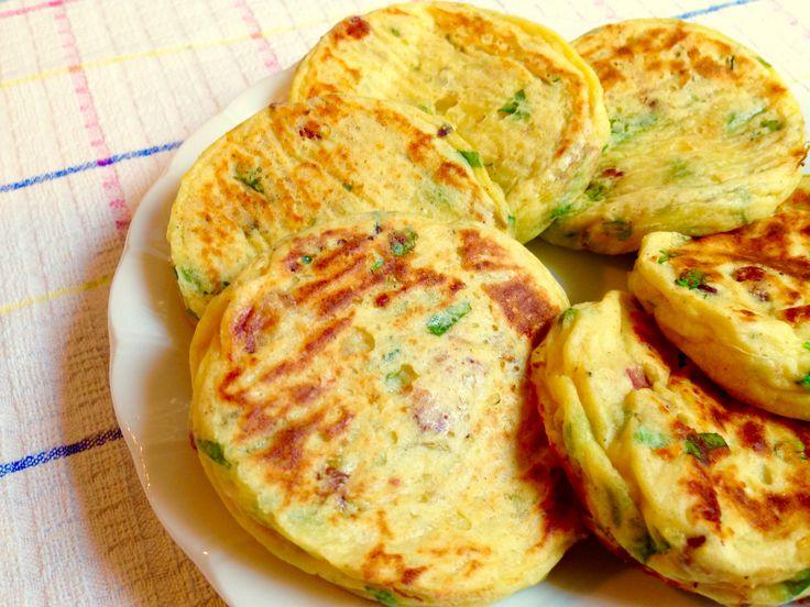 Tortine di Patate con Pancetta