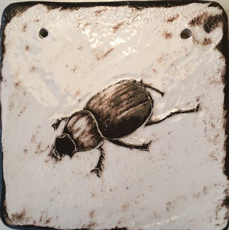 Ceramics, Sgrafitto. ( 2015 ) By Birgitte Miljeteig