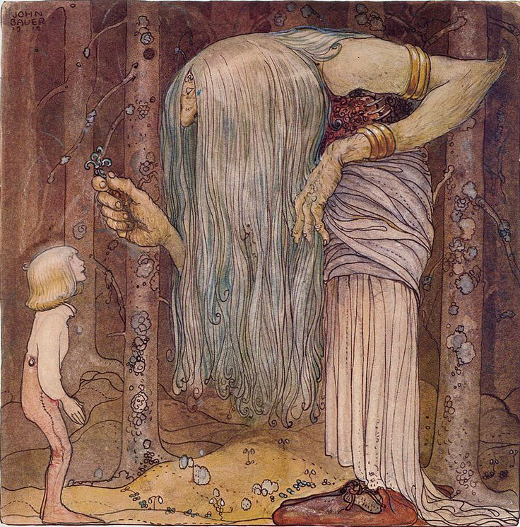 Här ska du få en bit av en trollört, som ingen mer än jag kan leta rätt på - Among Gnomes and Trolls - Wikipedia, the free encyclopedia