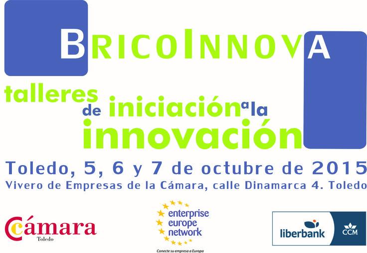 ¿Quieres que tu #empresa sea más #innovadora y no sabes cómo? #Bricoinnova con In-Nova este octubre en el Vivero de Empresas de Toledo. Te esperamos.