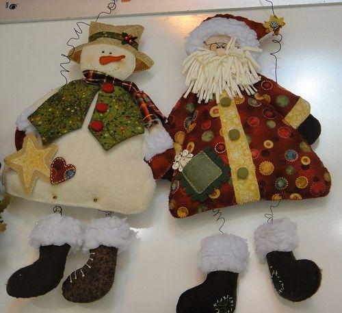 Nieve y Santa