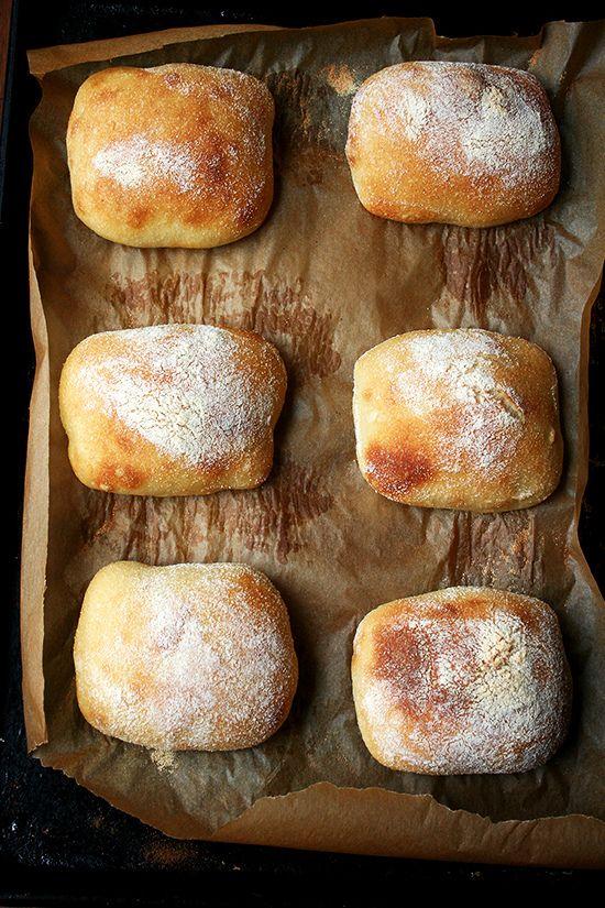 Faux Ciabatta • Prosciutto & Arugula Sandwich