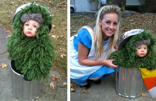 rencontre improbable entre alice et cookie monster ;-): Adorable Costumes, Costumes Baby Ideas, Oscars The Grouch, Grouch Costumes, Future Kids, Kids Costumes, Cute Costumes, Halloween Photos, Adorable Kids