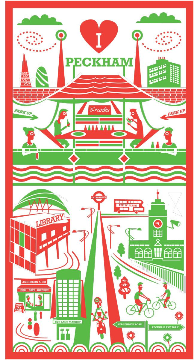Peckham print