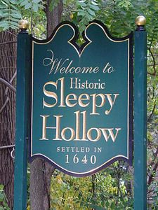 Sleepy Hollow, New york  Haunted City.  We lived 5 minutes from Sleepy Hollow NY.  My daughter was born there!  Super, Super fun place to be at Halloween time!!!!