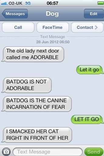 Best Funny Images On Pinterest Funny Things Cat Stuff And - Dogs able text 30 hilarious texts dogs