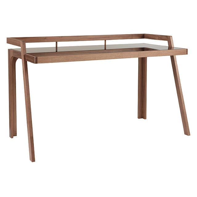 BuyJohn Lewis Gazelle Desk, Walnut Online at johnlewis.com