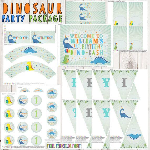 Dinosaur Birthday Printable Party Pack Dinosaur Birthday Printable Party Pack Any Age Dinosaur Dig Birthday Party Dino Birthday Fossil Party